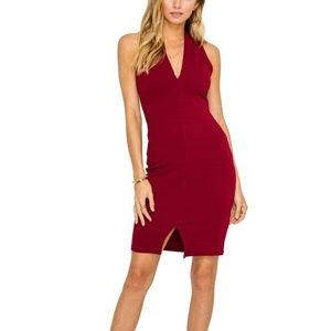 NWT The ASTR Label VNK TEXTURED BODYCON DRESS